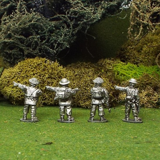 28mm ww2 British nco's