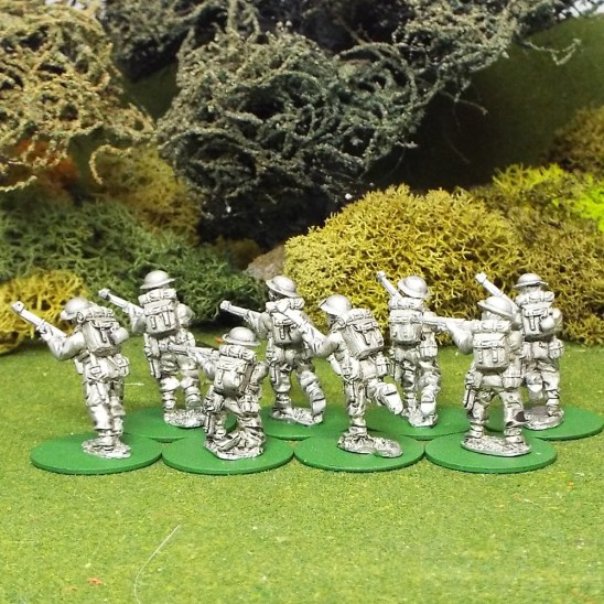 28mm BEF Riflemen