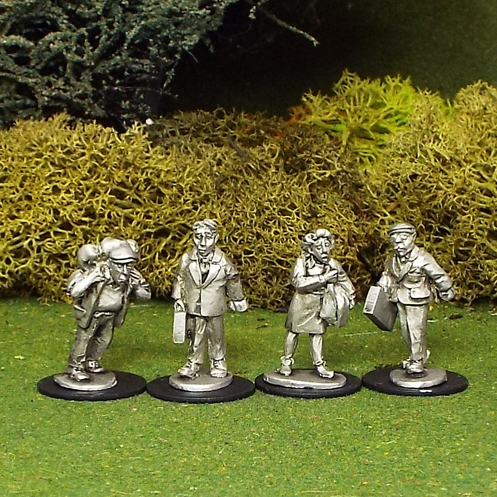 28mm Civilians or Refugees