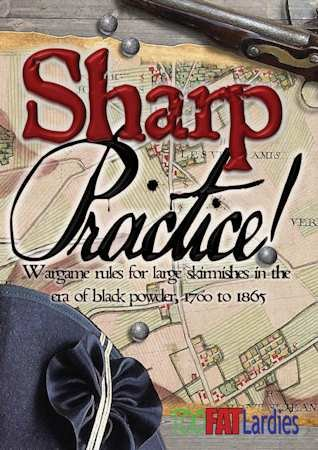 Sharp Practice Rule Book and Card Deck
