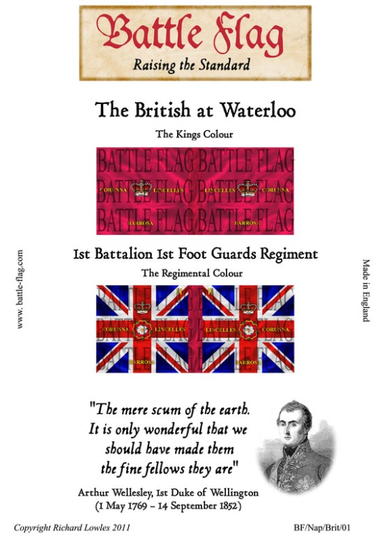 1st Battalion 1st Foot Guards Regiment.
