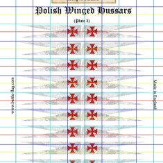 Pennants of the Polish Winged Hussars