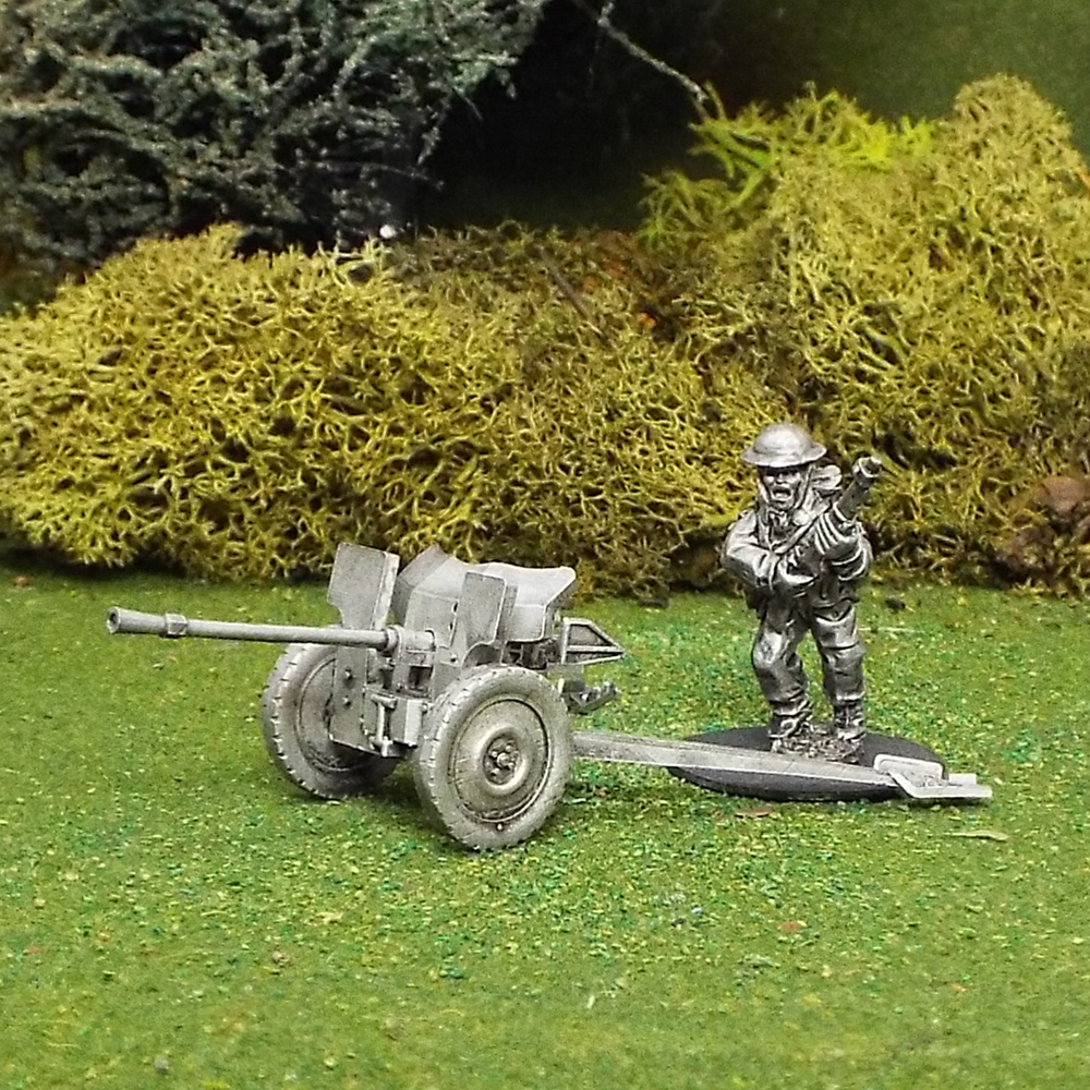 Hotchkiss 25mm Anti Tank Gun