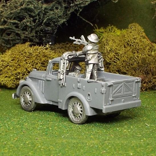 Light Utility Car with Civilian crew
