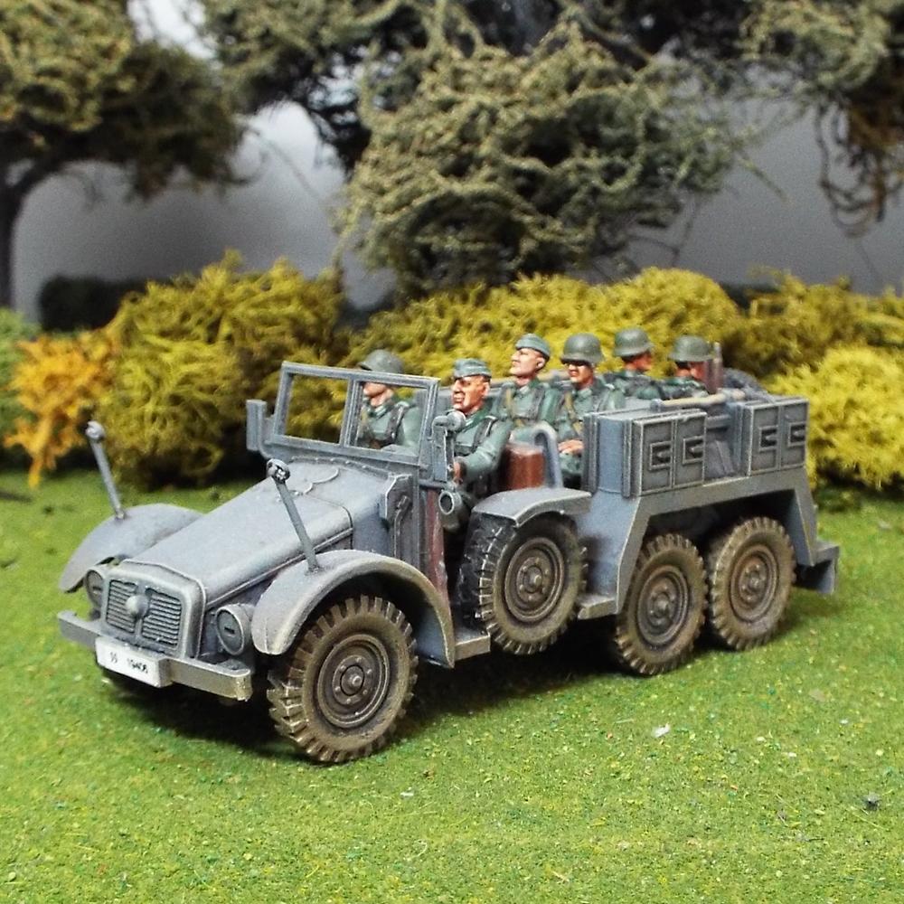 Crew for Krupp Protz Artillery Tow KFZ69