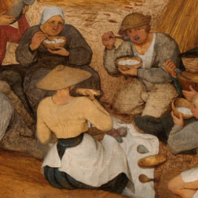 Bruegel: The Harvesters
