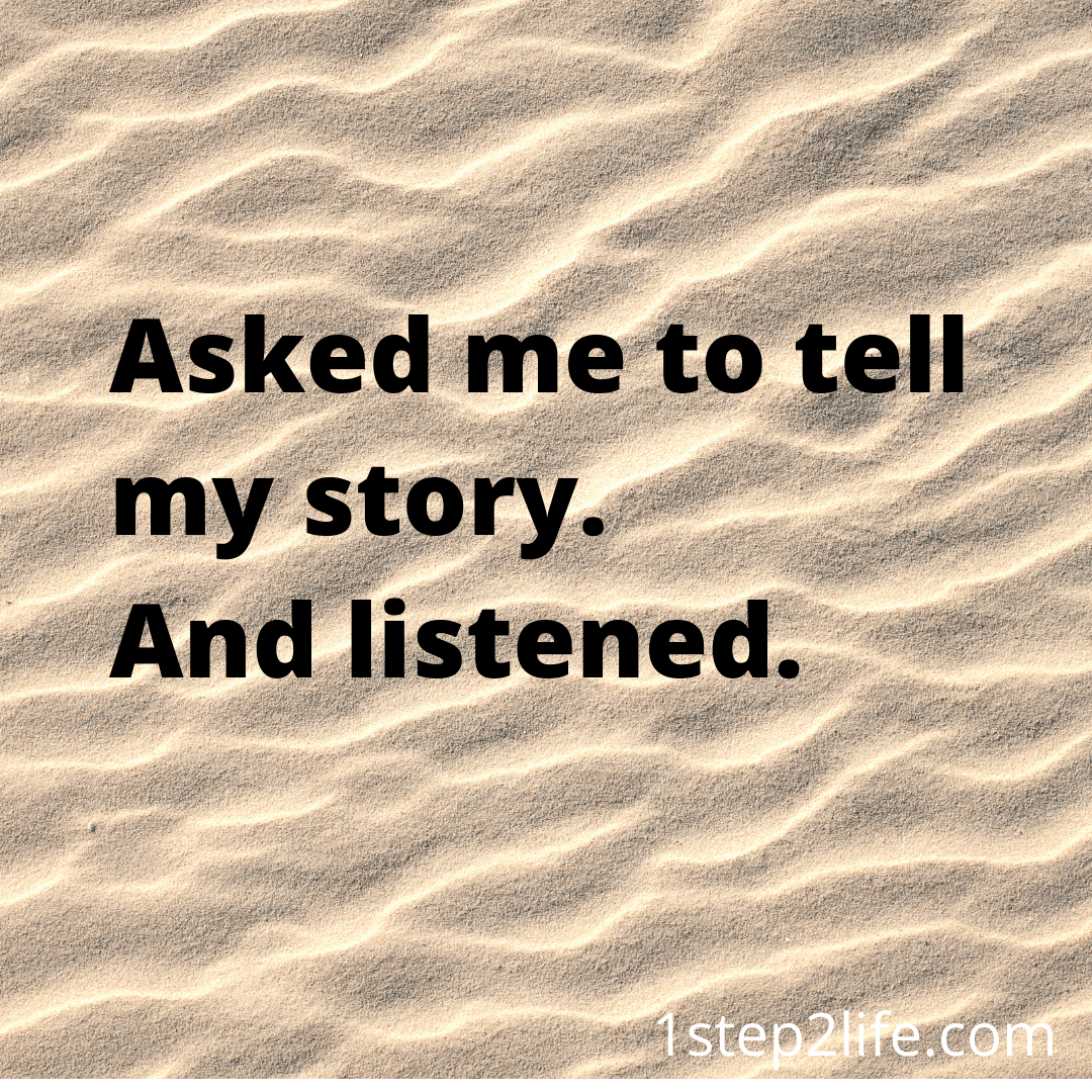 Asked my story