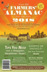 2018 US Farmer's Almanac