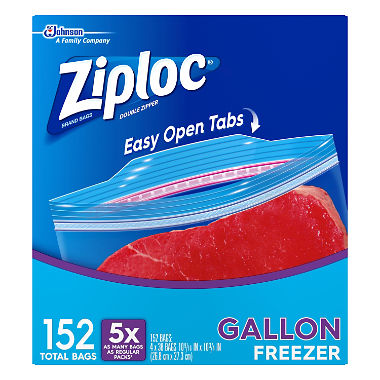 Gallon Zip-Lock Bags for Independent Reading books.