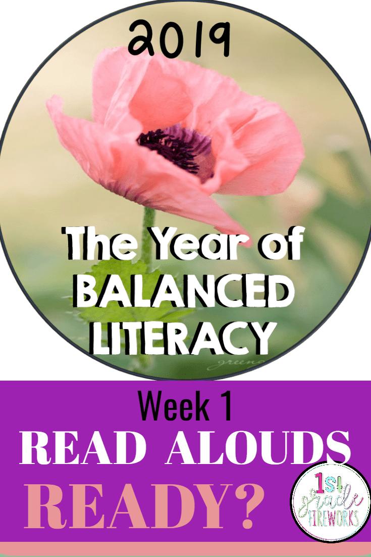 2019 the Year of BALANCED LITERACY!