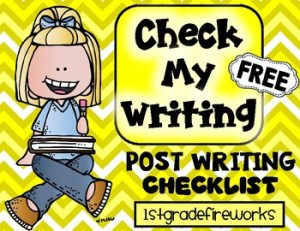 Check My Writing FREEBIE! 2019 the year of Balanced Literacy!