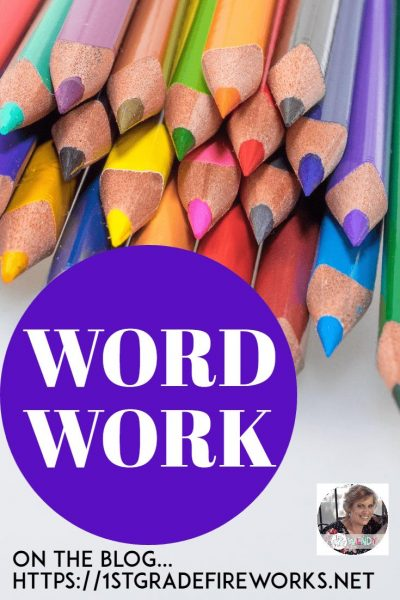 Balanced Literacy blog series..week 8  WORD WORK The HOW and WHY to add Word Work into YOUR Balanced Literacy classroom. Week 8 of 8 in our Blog Series.