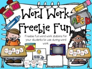Free Word Work
