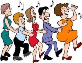 Teachers doing HAPPY DANCE