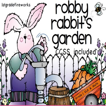 Robby Rabbit's Garden. Complete Plant unit for SPRING!