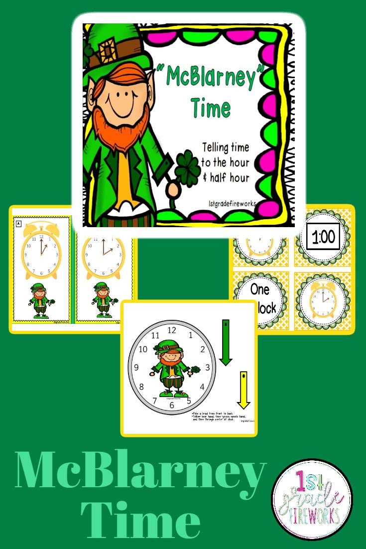 McBlarney TIME Time to the hour and half Hour