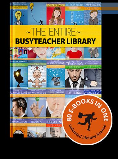 The BusyTeacher Library