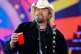 Toby Keith and his Red Solo Cup...what does that have to do with PAINTING?