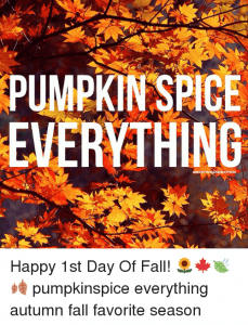 "When is it ""officially"" FALL?"