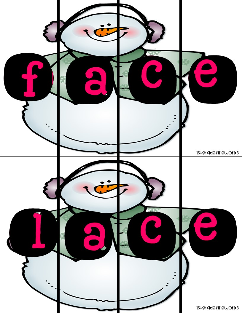 Long Vowel Picture Puzzles long a