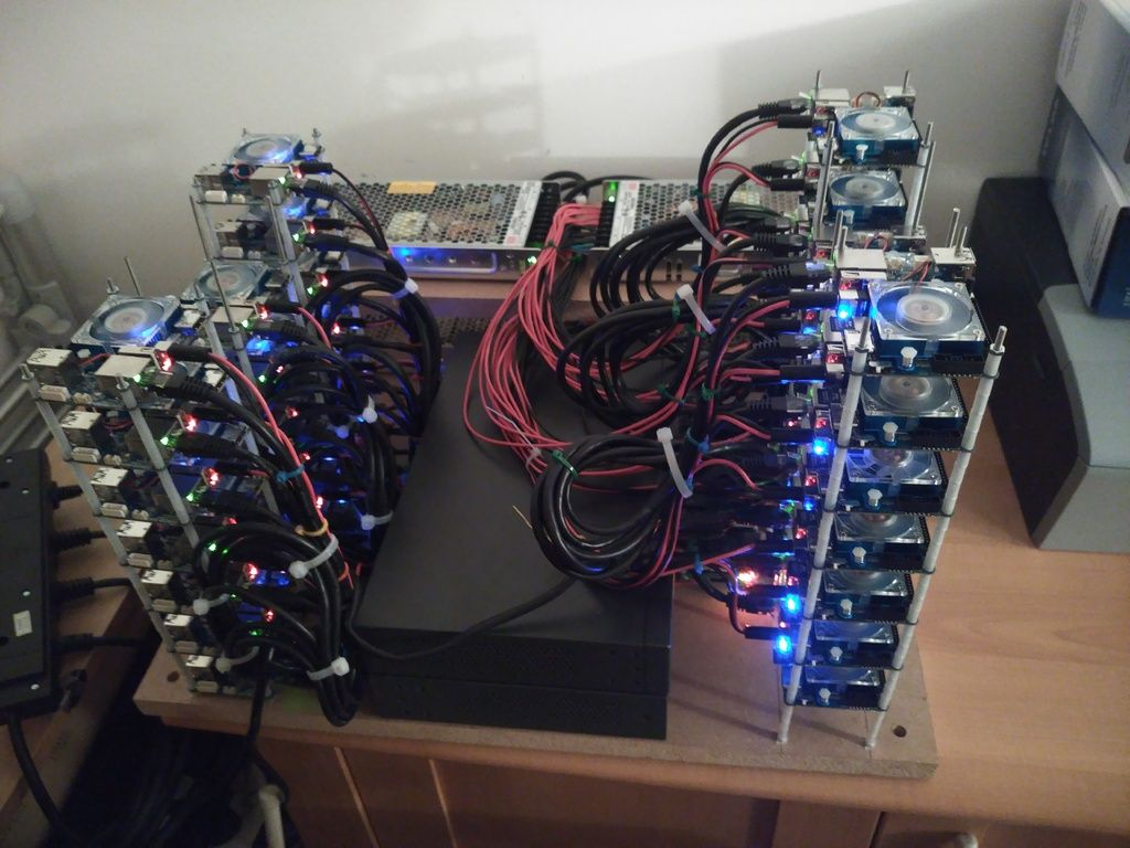 cost to build a cryptocurrency mining rig