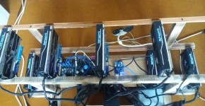 PCIe 1 to 3 PCI express 1X mining rig 2