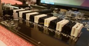 AsRock H110 Pro BTC+ 13 PCI-E Slots