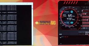 Gigabyte GTX 1060 6GB Ethereum Mining with Nvidia Optimised Ethminer Miner