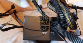 Gigabyte GTX 1070 8GB Mining Rig PSU 1 Setup & Cables