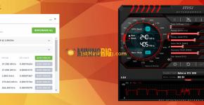 Gigabyte GTX 1070 8GB Nicehas mining benchmark 1