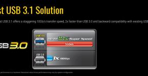 Gigabyte H110-D3A Fast USB 3.1