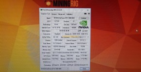 Nvidia Gigabyte GeForce GTX 1060 6GB GPU-z Samsung memory