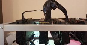 6x Nvidia GeForce Gigabyte GTX 1070 Mining Rig