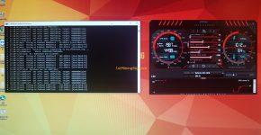 Gigabyte GeForce GTX 1070 8GB Mining Rig Ethereum Alone Hashrate ethminer