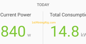 ethereum dual mining decred dag epoch hashrate drop power draw
