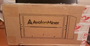 Avalon Miner 741 Review Unboxing 1