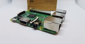 RaspBerry Pi 3 Model B side 1