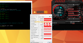 sapphire rx 470 8gb mining edition claymore zcash mining hashrate and power draw msi