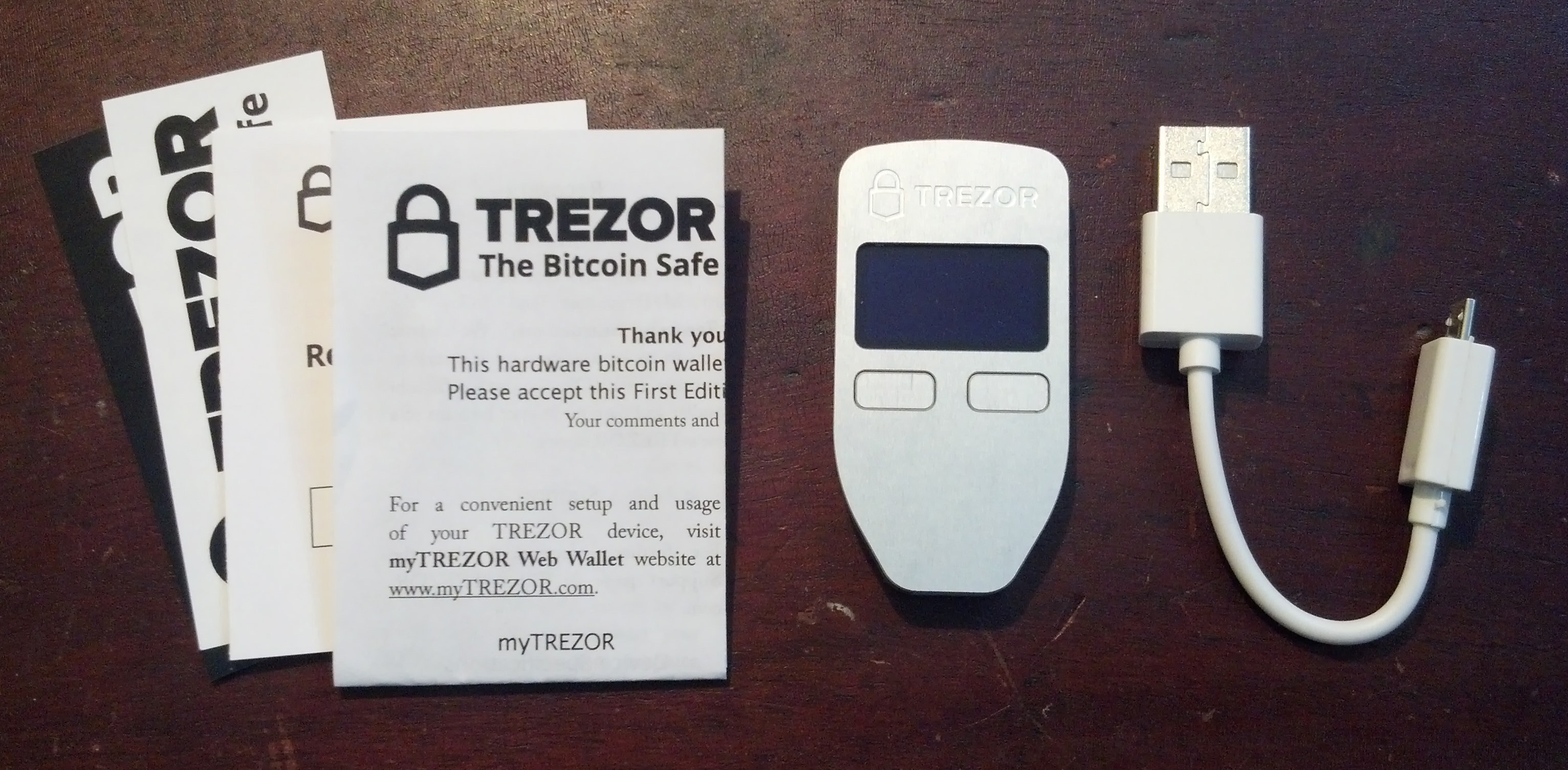 Trezor review is trezor still a good way to secure your bitcoins trezor hardware wallet unboxing review ccuart Images