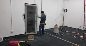 1stMiningRig Door install