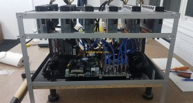 1stMiningRig Sapphire Pulse RX 580 8 GB Mining Rig 2