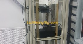 1stMiningRig Server Rack 4