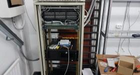 1stMiningRig Server Rack Finished 2