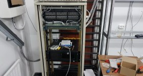 1stMiningRig Server Rack Finished 2
