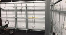 1stMiningRig Server Rack Finished and Cables