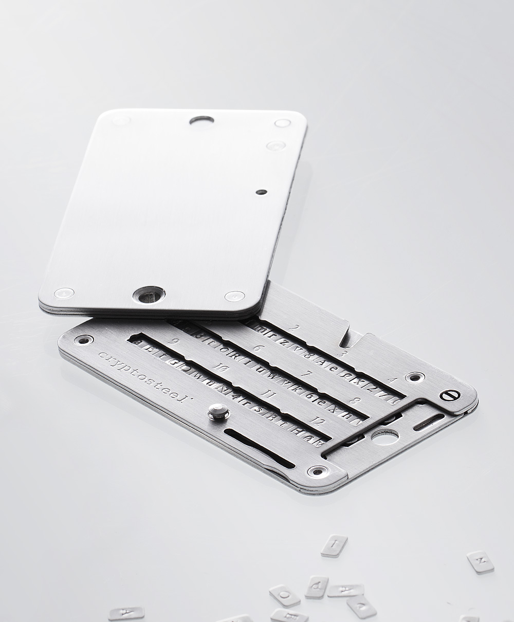 Ledger Card Holder : Ledger cryptosteel review the perfect solution to backup