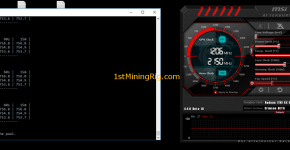 rx 570 4gb electroneum mining hashrate and overclock