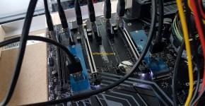 MSI Z370 SLI Plus Mining Motherboard M.2 to PCIe