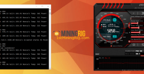 Asus P104-100 4GB Bminer 70 ZCash Equihash Mining Hashrate