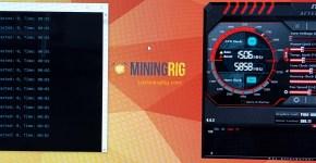 Asus P104-100 4GB Ethereum Mining Hashrate
